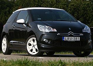 Aprócska  ékszerdoboz - Citroën DS3 teszt