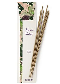 Esteban Paris füstölő pálca füge illatban A csomagban húsz rudacska van, egyenként félórás működéssel. Természetes anyagokból készült, ragasztó- és színezékmentes. (1490 Ft, Szépségek Kicsiny Boltja)