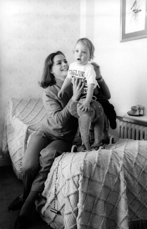 Romy Schneider és fia David