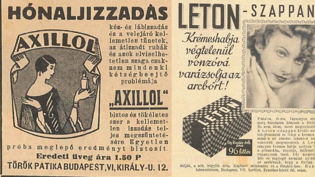 Régi reklámok régi magazinokban