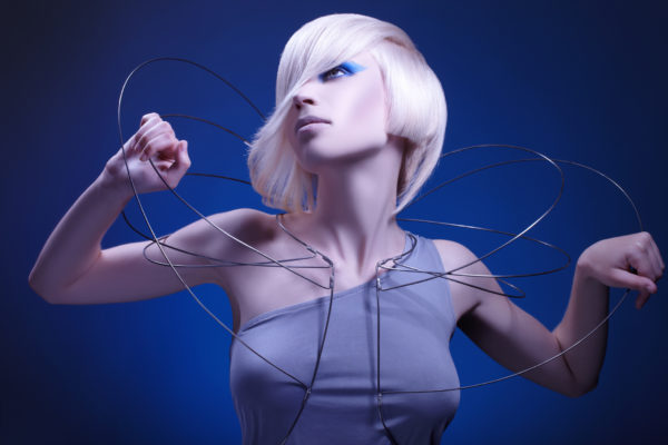 Geometrikus frizura