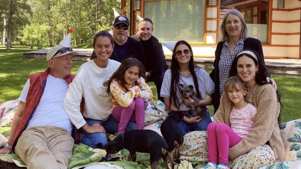 Bruce Willis és családja