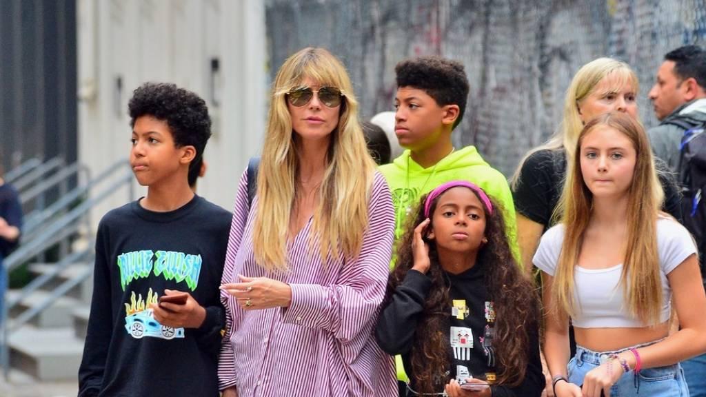 Heidi Klum és családja