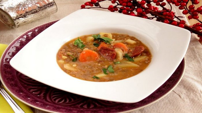 Recept a leves nevére kattintva