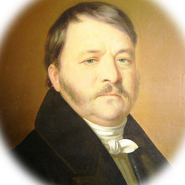 Mayerffy Xavér Ferenc portréja