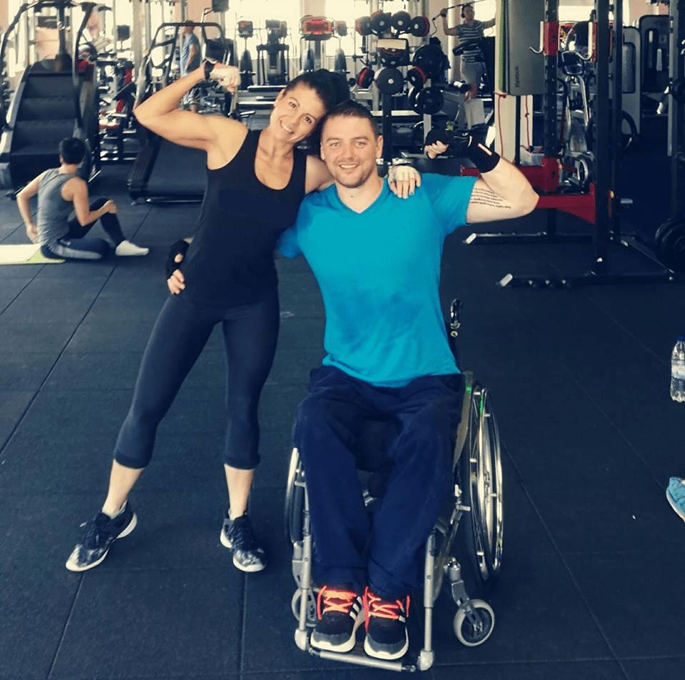 Bovier György kerekesszék sport edzés szerelem