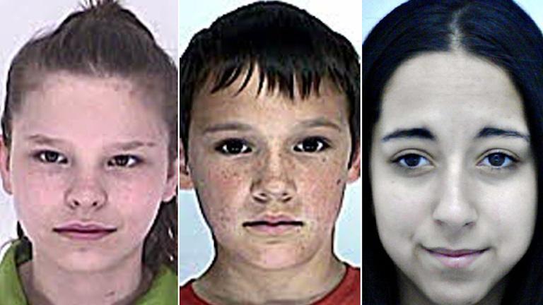 Eltűnt gyerekek (forrás: Police.hu)