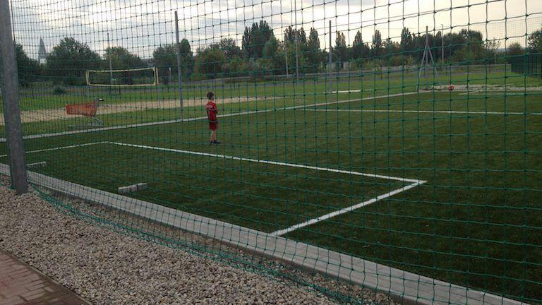 focipalya, gyerek