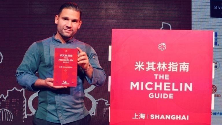 Rácz Jenő, Michelin-csillag (forrás: Rácz Jenő / Turizmus Online)