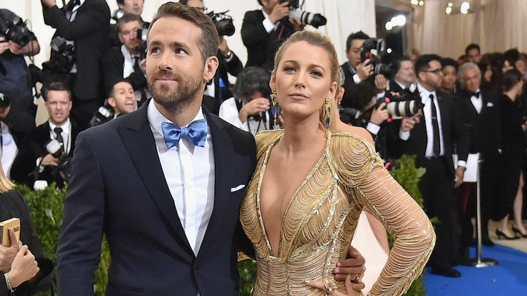 Ryan Reynolds és Blake Lively idén májusban (fotó: Mike Coppola/Getty Images for People.com/AFP)