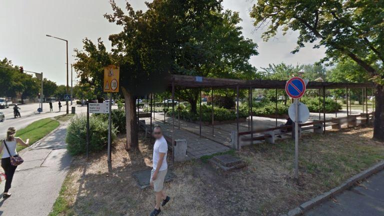 A debreceni Bem tér környéke a Google képén