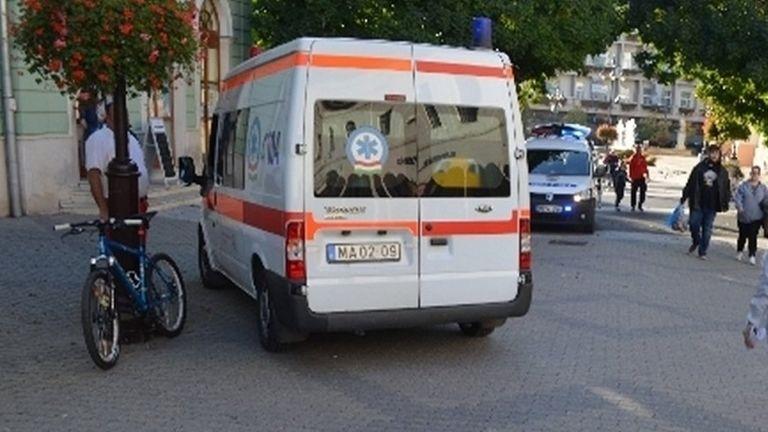 kerekpár, baleset (fotó: police.hu)