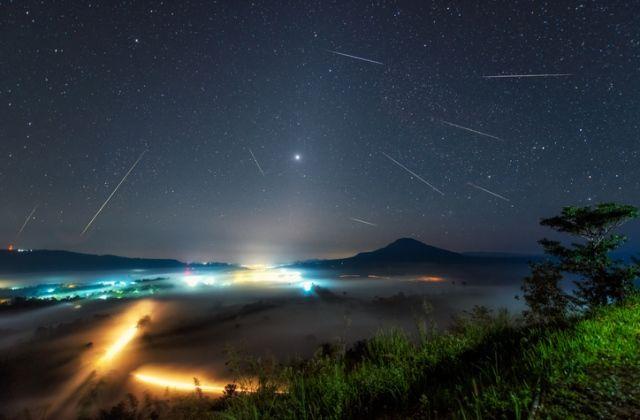 októberi csillaghullás orionida meteorraj
