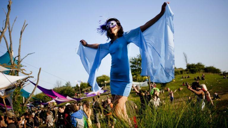 Ozora fesztivál (fotó: MTI / Mohai Balázs)
