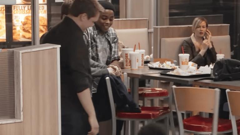 iskolai zaklatás, burger king