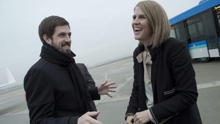 Magyar Levente és Colleen Bell 2015-ben (fotó: KKM)