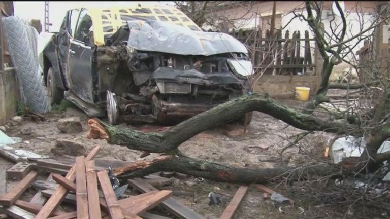 Terepjáró Csobádon (forrás: TV2)