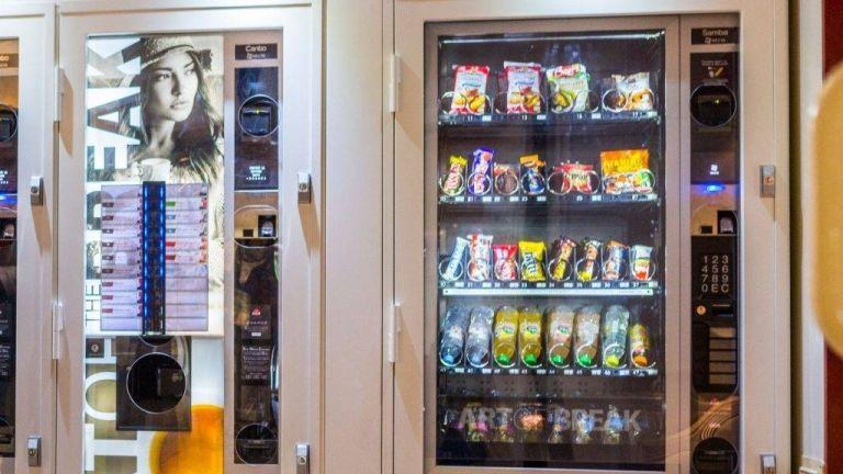 Ital- és ételautomata (fotó: Europress)