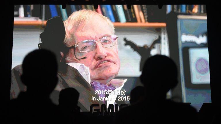 Stephen Hawking (fotó: AFP / Greg Baker)