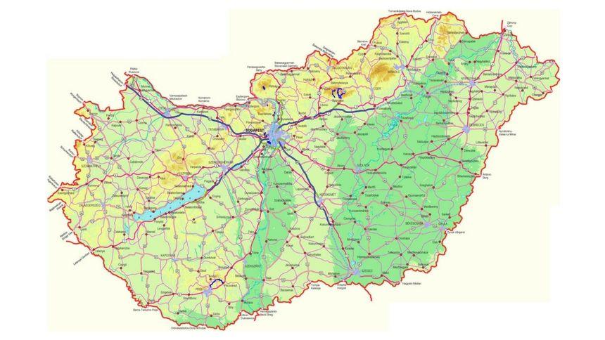magyarország térkép jpg Magyarország térkép | NLCafé magyarország térkép jpg
