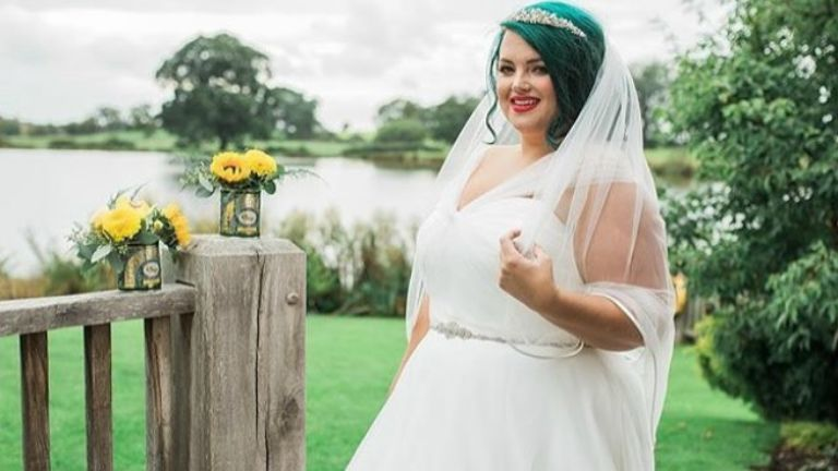 plus size menyasszony