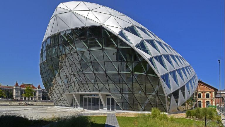 A Bálna épülete (fotó: MTVA/Bizományosi: Róka László)