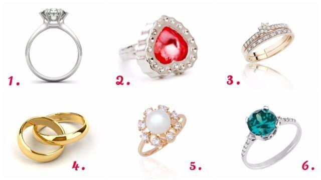 gyémánt gyűrű személyiségteszt
