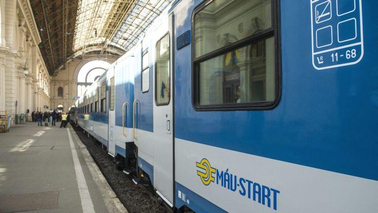 vonat, MÁV (MTI Fotó: Illyés Tibor)