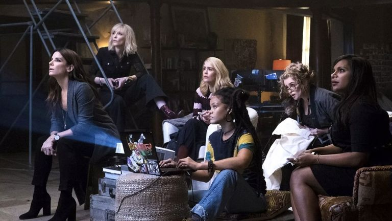 Ocean's 8 (fotó: Barry Wetcher/Warner Bros.)