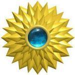 arany mandala spirituális üzenet