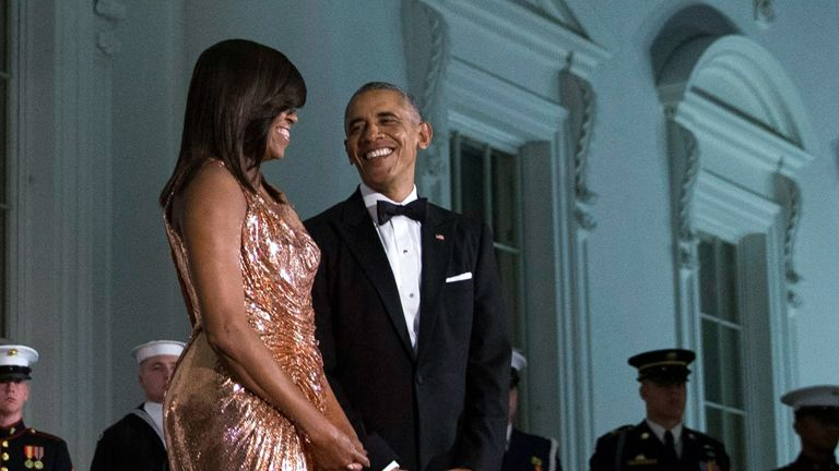 Gyönyörű üzenettel köszöntötte feleségét szülinapján Barack Obama