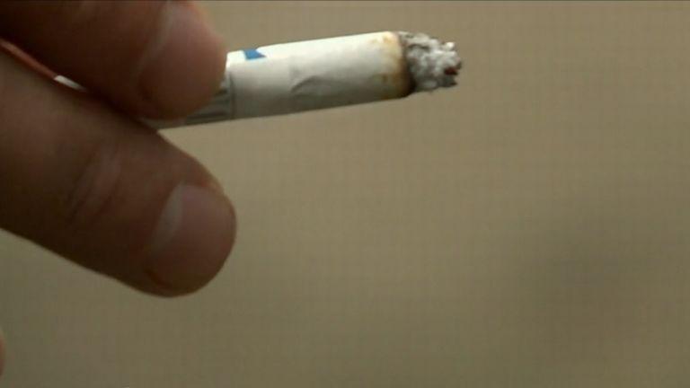 dohányzás, cigaretta (forrás: TV2)