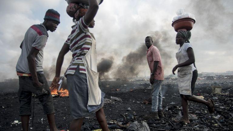 Ghána, nők (fotó: AFP / Cristina Aldehuela)