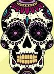 színes festett koponyák személyiség teszt