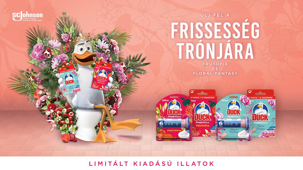 nlc nyereményjáték Duck® Fresh Discs ajándékcsomag