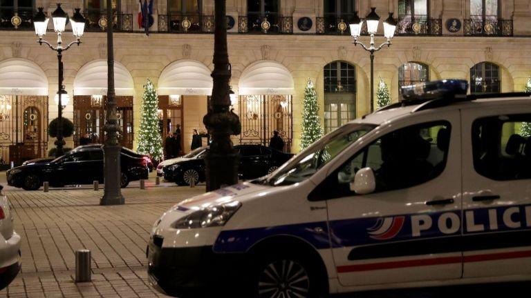 párizs, ékszerrablás (forrás: Twitter / Bloomberg)