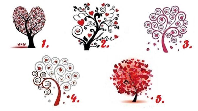 szerelem fa személyiség teszt párkapcsolat