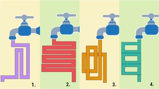 víz cső intelligencia teszt személyiség