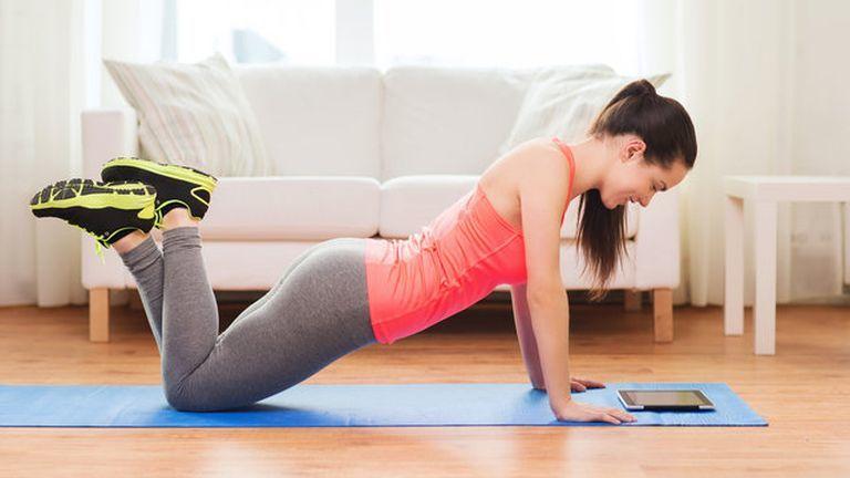 szalka andi, edzés otthon