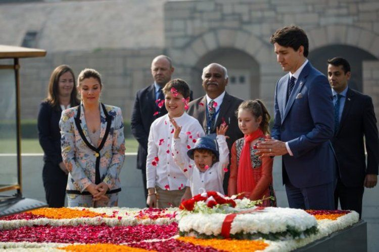 kanadai miniszterelnök fia