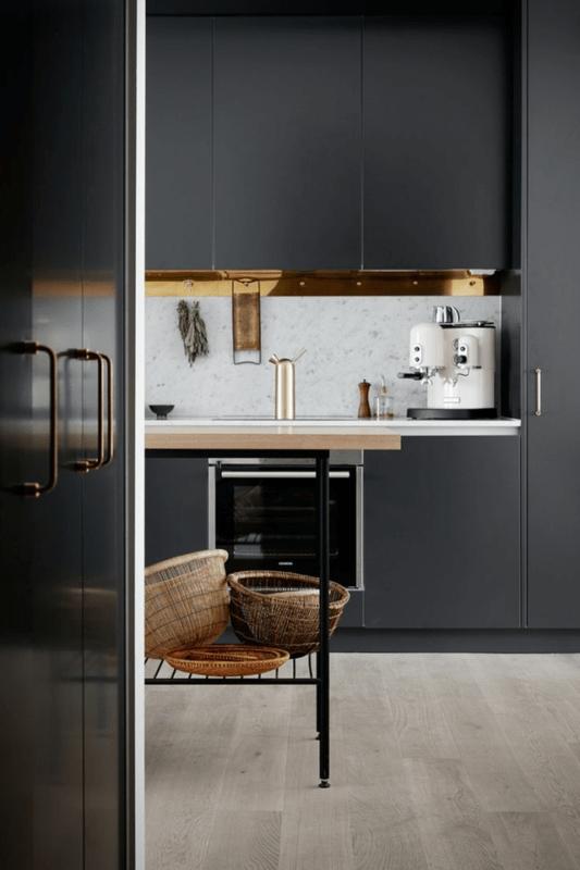fekete konyha fürdőszoba