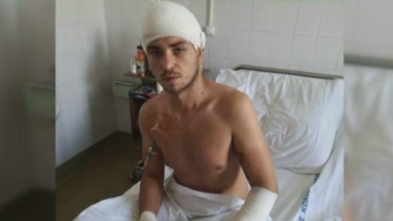 Gál Zoltán, baleset, bionikus kéz (forrás: RTL Klub)