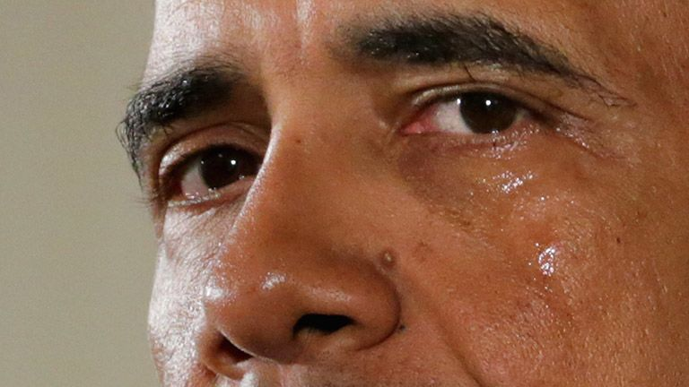 barack obama sír