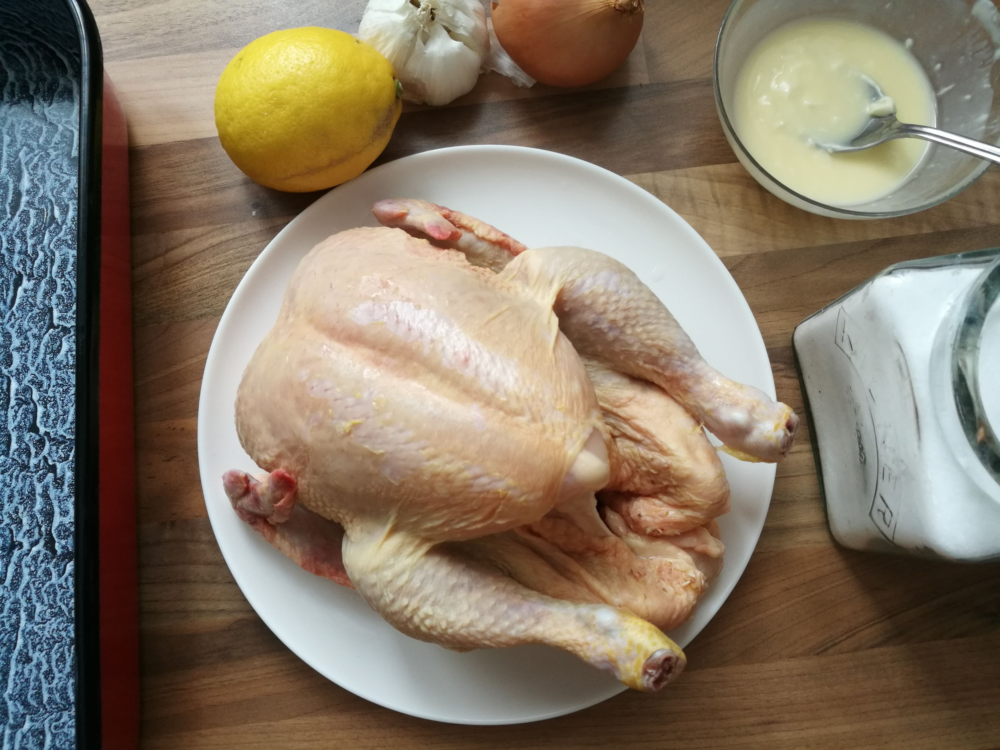 sült csirke recept
