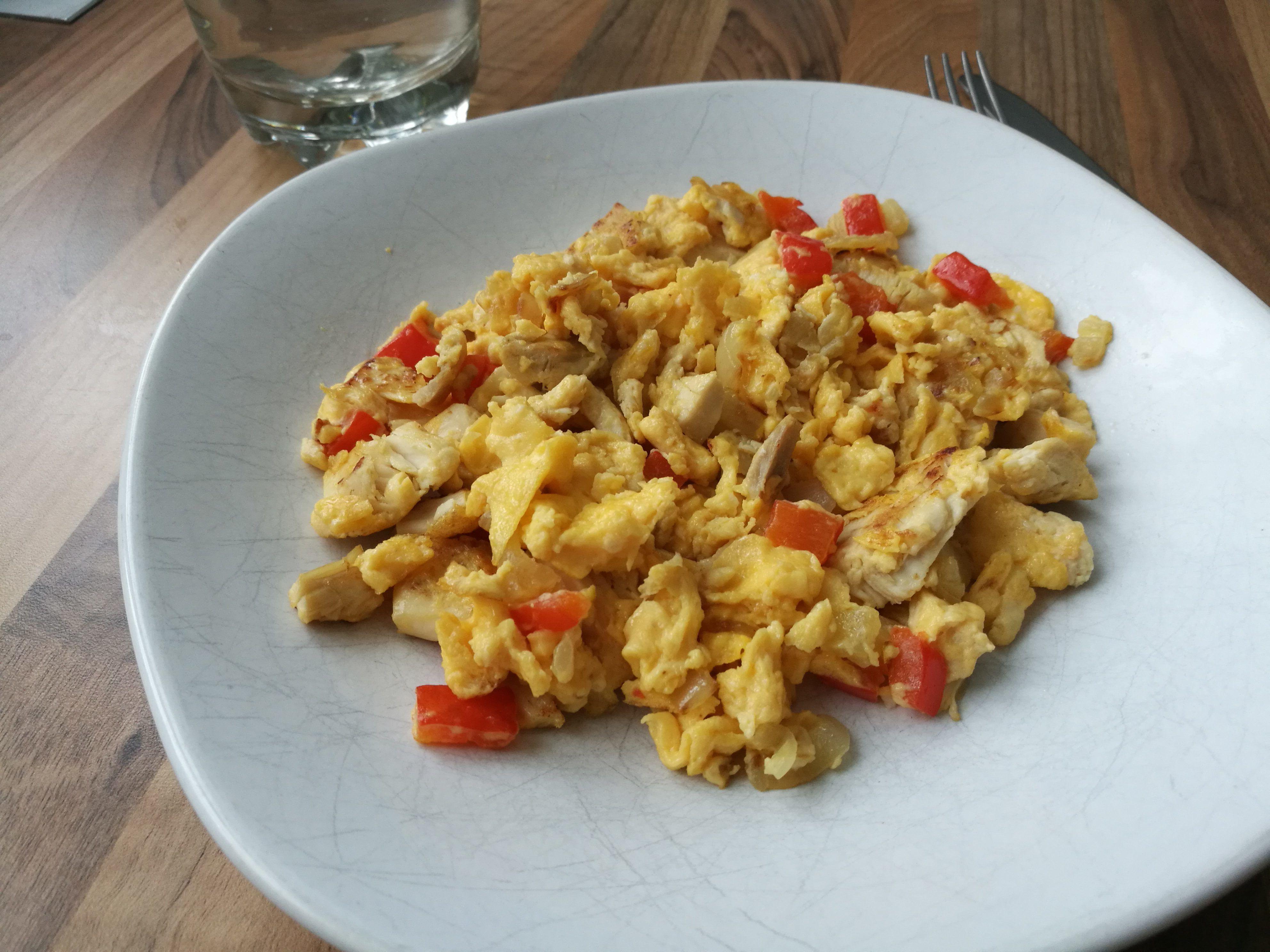 csirke rántotta tojás recept reggeli