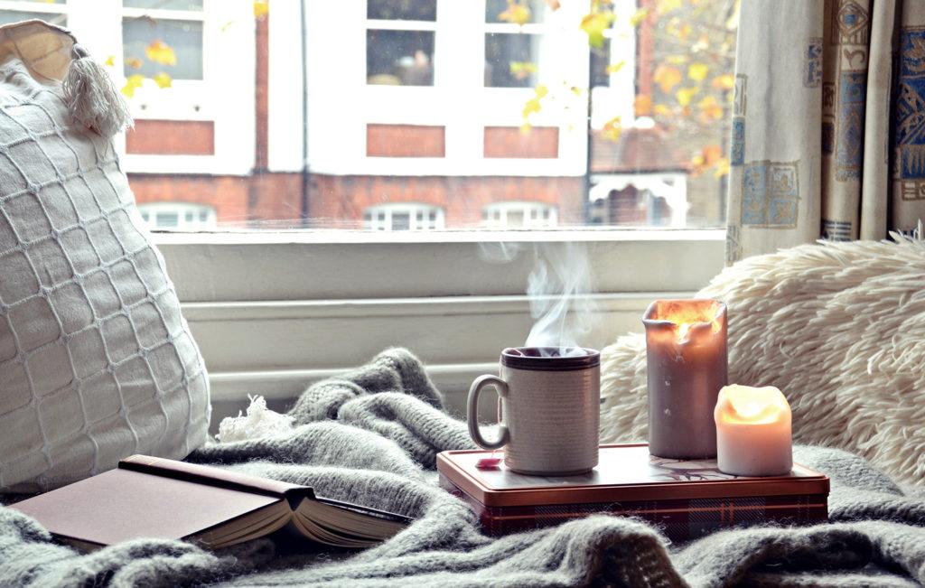 tea gyertya könyv harmónia relax