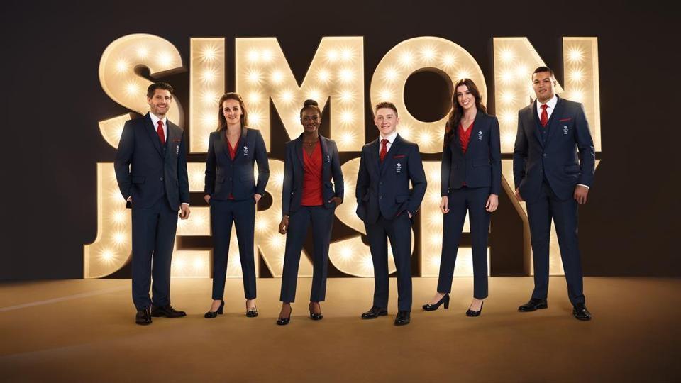 A brit olimpiai csapat formaruhája a 2018-as phjongcshangi téli olimpiai  játékokra da2beb2ce5