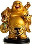 szerencsét hozó buddha szobor spirituális üzenet