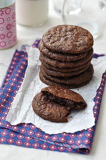 csokis keksz recept sütemény édesség
