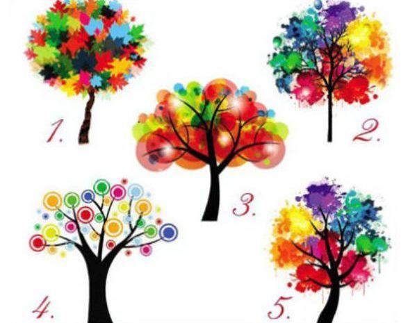 személyiség teszt színes fák önismeret
